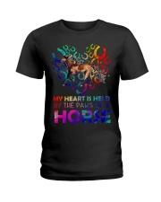 By The Paws Of A Horse Shirts Ladies T-Shirt thumbnail