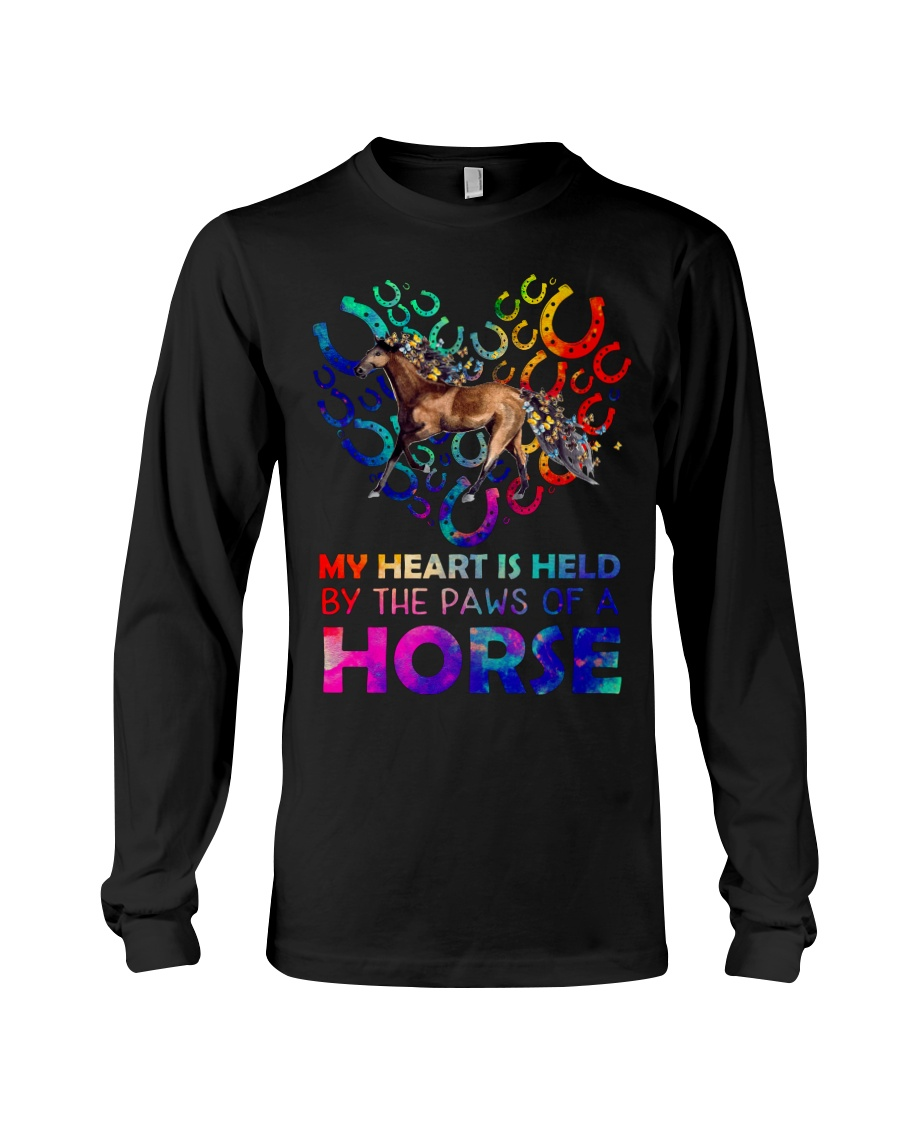 By The Paws Of A Horse Shirts Long Sleeve Tee