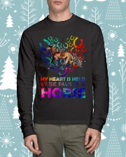 By The Paws Of A Horse Shirts Long Sleeve Tee lifestyle-holiday-longsleeves-front-1