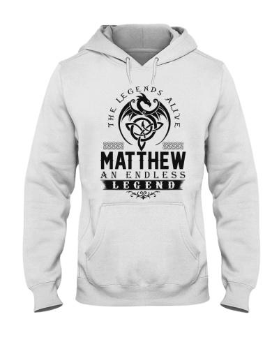 Matthew An Endless Legend Alive T-Shirts