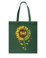 Sunflower 1949 70 Years Of Being Awesome T-shirt Tote Bag thumbnail
