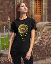 Sunflower 1949 70 Years Of Being Awesome T-shirt Classic T-Shirt apparel-classic-tshirt-lifestyle-06