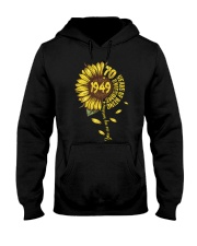 Sunflower 1949 70 Years Of Being Awesome T-shirt Hooded Sweatshirt thumbnail