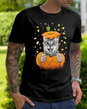 Cat Halloween Shirts Classic T-Shirt lifestyle-mens-crewneck-front-7