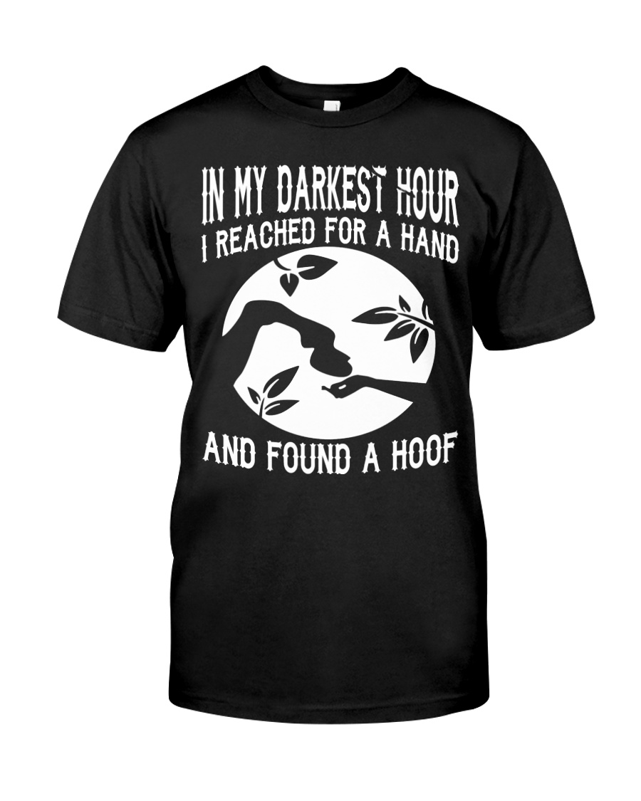 Found A Hoof Tshirts Classic T-Shirt