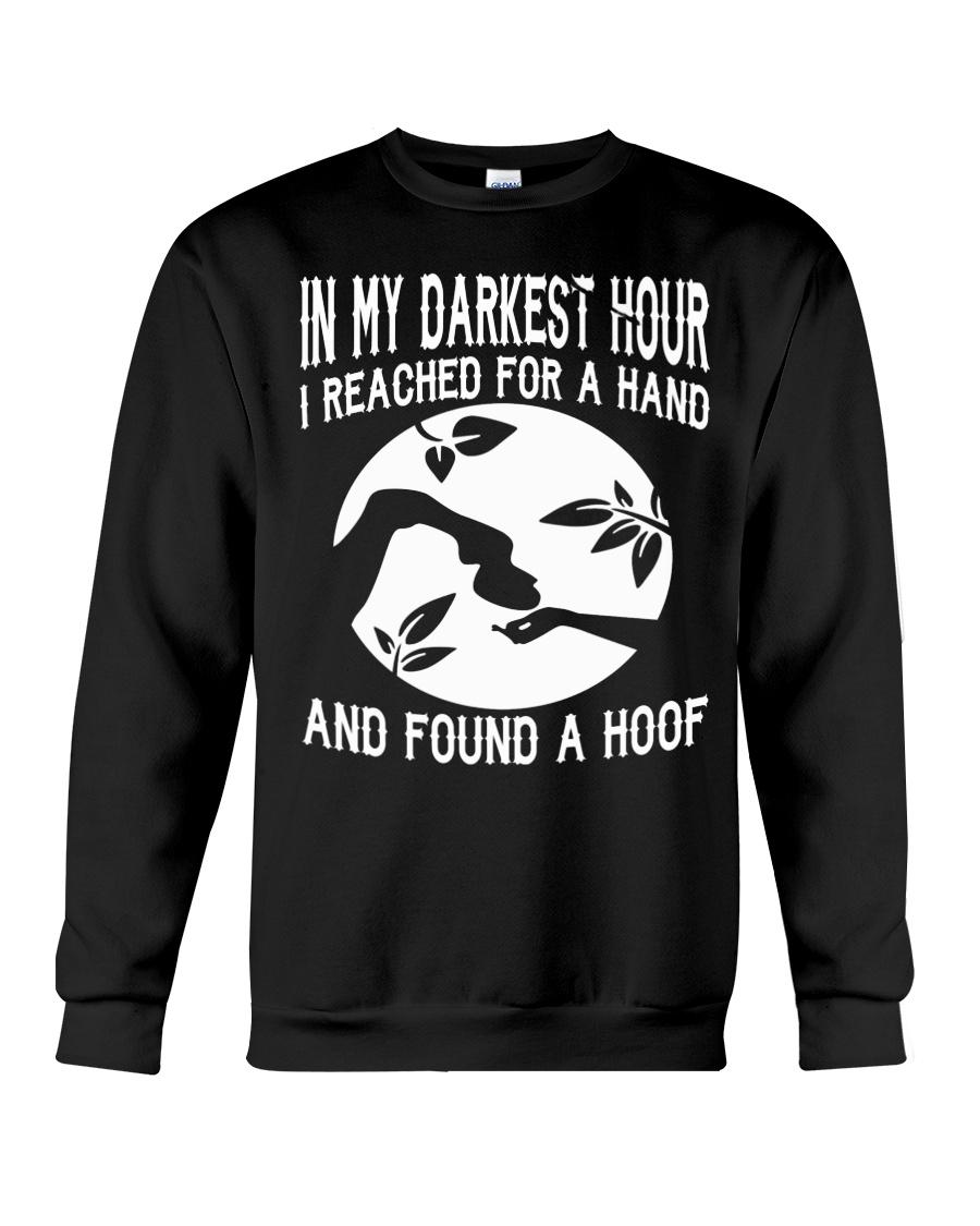 Found A Hoof Tshirts Crewneck Sweatshirt