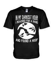 Found A Hoof Tshirts V-Neck T-Shirt thumbnail