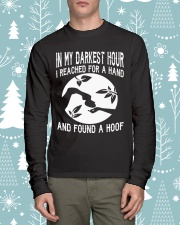 Found A Hoof Tshirts Long Sleeve Tee lifestyle-holiday-longsleeves-front-1