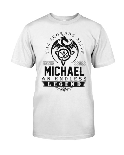 Michael An Endless Legend Alive T-Shirts