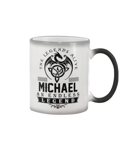 Michael An Endless Legend Alive T-Shirts