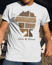 Shades of Melanin T-shirt Classic T-Shirt apparel-classic-tshirt-lifestyle-28