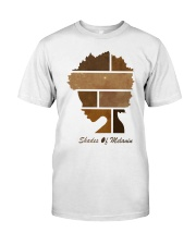 Shades of Melanin T-shirt Classic T-Shirt front
