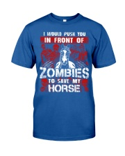 Horse Zombies Tshirts Classic T-Shirt front