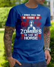 Horse Zombies Tshirts Classic T-Shirt lifestyle-mens-crewneck-front-7
