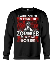 Horse Zombies Tshirts Crewneck Sweatshirt thumbnail