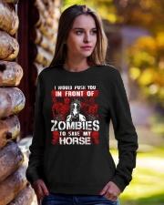 Horse Zombies Tshirts Crewneck Sweatshirt lifestyle-unisex-sweatshirt-front-7