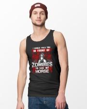Horse Zombies Tshirts Unisex Tank lifestyle-unisex-tank-front-3