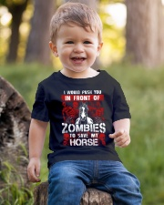 Horse Zombies Tshirts Youth T-Shirt lifestyle-youth-tshirt-front-4