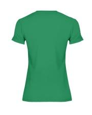 Horse Zombies Tshirts Premium Fit Ladies Tee back