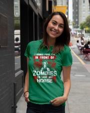Horse Zombies Tshirts Premium Fit Ladies Tee lifestyle-women-crewneck-front-5