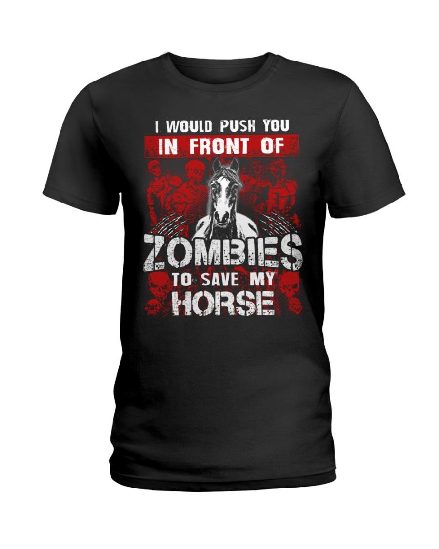 Horse Zombies Tshirts Ladies T-Shirt