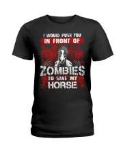 Horse Zombies Tshirts Ladies T-Shirt thumbnail