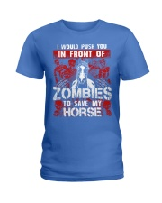 Horse Zombies Tshirts Ladies T-Shirt front