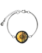 You Will Be Never Gone From My Heart Dad Metallic Circle Bracelet thumbnail