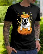 Pulldog Halloween Shirts Classic T-Shirt lifestyle-mens-crewneck-front-7