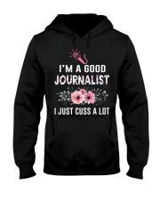 Amazing T-shirts for Journalist Hooded Sweatshirt thumbnail