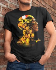 Proud My African American Roots T-shirt Classic T-Shirt apparel-classic-tshirt-lifestyle-26