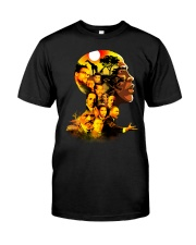 Proud My African American Roots T-shirt Classic T-Shirt front