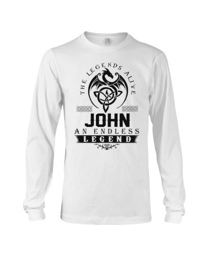 John An Endless Legend Alive T-Shirts