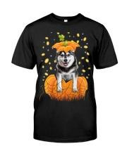 Husky Halloween Shirts Classic T-Shirt front