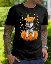 Husky Halloween Shirts Classic T-Shirt lifestyle-mens-crewneck-front-7