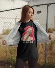 Funny Shuh Duh Fuh Cup Mermaid T-shirt Classic T-Shirt apparel-classic-tshirt-lifestyle-07
