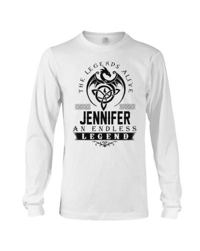 Jennifer An Endless Legend Alive T-Shirts