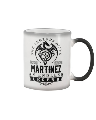 Martinez An Endless Legend Alive T-Shirts