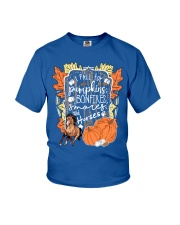 Horse T-Shirt For Halloween Gift Tee Shirt Youth T-Shirt front