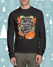 Horse T-Shirt For Halloween Gift Tee Shirt Long Sleeve Tee lifestyle-holiday-longsleeves-front-1