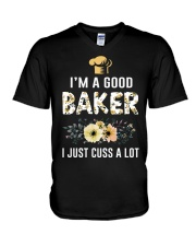 Amazing T-shirts for baker V-Neck T-Shirt thumbnail