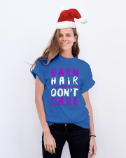 Barn Hair Don't Care Classic T-Shirt lifestyle-holiday-crewneck-front-1