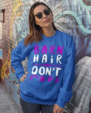 Barn Hair Don't Care Crewneck Sweatshirt lifestyle-unisex-sweatshirt-front-3