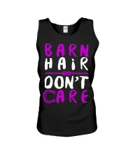 Barn Hair Don't Care Unisex Tank front