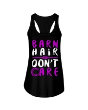 Barn Hair Don't Care Ladies Flowy Tank thumbnail