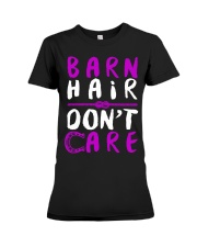 Barn Hair Don't Care Premium Fit Ladies Tee tile