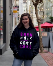 Barn Hair Don't Care Hooded Sweatshirt lifestyle-unisex-hoodie-front-2