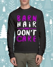 Barn Hair Don't Care Long Sleeve Tee lifestyle-holiday-longsleeves-front-1