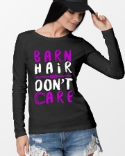 Barn Hair Don't Care Long Sleeve Tee lifestyle-unisex-longsleeve-front-4
