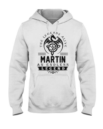 Martin An Endless Legend Alive T-Shirts
